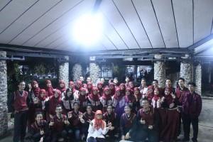 Penampilan tim KPA di acara Geothermal pada tanggal 30 Maret 2016